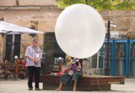 Reprezentatie cu balon - Festivalul international de teatru Atelier - Baia Mare 2007 (7/51)