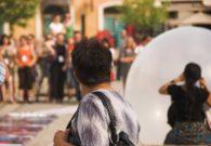 Reprezentatie cu balon - Festivalul international de teatru Atelier - Baia Mare 2007 (9/51)