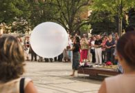 Reprezentatie cu balon - Festivalul international de teatru Atelier - Baia Mare 2007 (11/51)