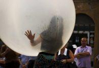 Reprezentatie cu balon - Festivalul international de teatru Atelier - Baia Mare 2007 (24/51)