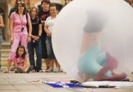 Reprezentatie cu balon - Festivalul international de teatru Atelier - Baia Mare 2007 (34/51)